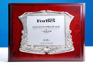 2012福布斯中国潜力企业榜排名第七名