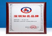 第九届深圳知名品牌