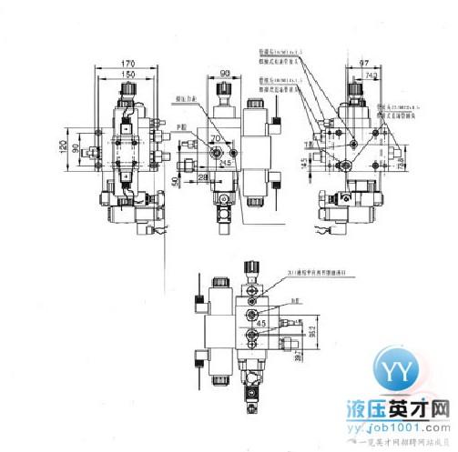 推荐组合液压阀推荐图纸图分享水锤泵原理图片