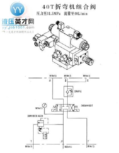 派力奥汽车空调压缩机; 荐原理图分享; 机组合阀里面的溢流阀是液压图片